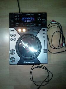 PIONEER CDJ-400 Single Deck CD/USB Player, wenig Gebrauchsspuren
