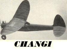 """Model Airplane Plans (FF): CHANGI 38"""" Wingspan Sportster for .75-1cc Engine"""