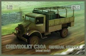 IBG 35038 1/35 Chevrolet C30A General service (steel body) Plastic Model Kit