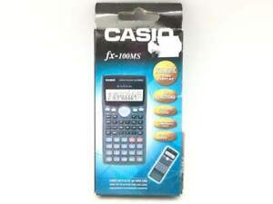 CALCULADORA CASIO FX100-MS 6789239