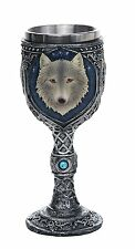 Lone Wolf Celtic Magic 7oz Wine Chalice Goblet