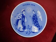 """Porsgrunds,Norway,1973 Christmas,Porcelain,Plate , """"The Promise Of The Saviour""""-"""