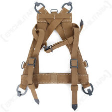 A-Frame with Webbing Straps - WW2 Repro German Army Soldier Carrier Canvas New