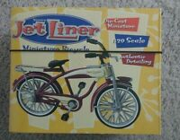 XONEX JET LINER MINIATURE BICYCLE 1/20 SCALE DIE CAST