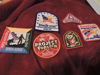 Lot of Popcorn Sales Cub Scout Patches