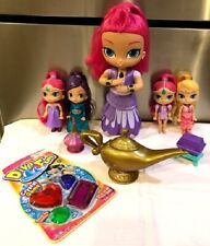 all 5 Genie Dolls. The large Genie light up & talk plus accessories!..