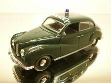 SCHUCO BMW 501 - POLIZEI - POLICE GREEN 1:43 - VERY GOOD CONDITION