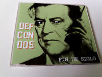 "DEF CON DOS ""FIN DE SIGLO"" CD SINGLE 1 TRACKS"