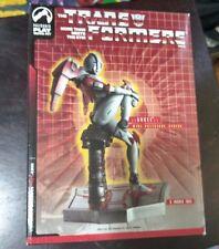 "TransFormers 6"" Mini PolyStone Statue Arcee Female Autobot Palisades Toys #1237"