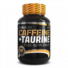 Caffeine + Taurine - 60 capsules (Biotech USA)