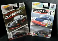 HOT WHEELS Modern Classics Black Aircooled  Porsche 964 Real Riders Track Day