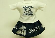 Dallas Cowboys Theme Outfit For 18 Inch Doll