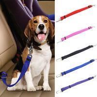 DOG Safety Seat Belt CAR Adjustable Pet Harness Restraint Energy Saving