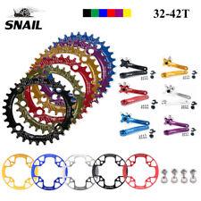 SNAIL 104BCD 32-42T Einzelnes Fahrrad Kettenblatt + 170mm Kurbel & Chain Guard