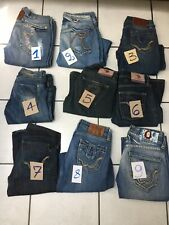 4b5fd6eaed070 JEANS FEMME REPLAY TAILLE US 26.27 FR 36.37 9 MODELES DIFFERENTS Prix  Unitaire