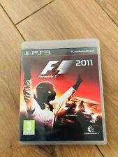 Jeu F1 2011 playstation 3 PS3 en bon etat avec boitier