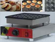 25pcs Commercial Non-stick Electric Dutch Poffertjes Mini Pancakes Maker Machine