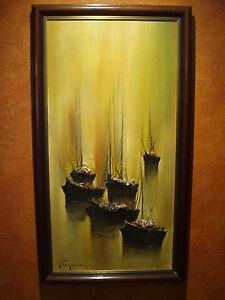 Ozz Franca original oil painting