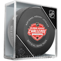 2019 Global Challenge Switzerland Game Puck Philadelphia Flyers & Lausanne HC