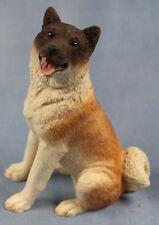 hundefigur akita inu schlittenhund tierfigur hund figur hundefigur akita si