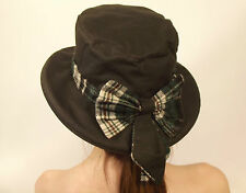 Wax Bow Hat New Ladies  Classic Vintage Best British Olive Green Large 59
