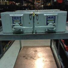 QMB3606 Square D Twin Fusible Switch 60AMP 3POLE 600V