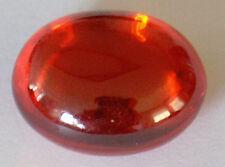 Stunning Oval 19x14.3 mm Double Dome Cabochon Nice Orange Nano Cyrstal gem