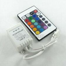 24 Keys IR Remote  Aluminum Controller for the RGB LED Strip New Hotsale