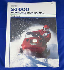 CLYMER SKI-DOO SNOWMOBILE SHOP MANUAL1985-1989 Formula S-829
