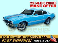 1971 Maverick Grabber Non-Reflective 1-Color Decals & Stripes Kit