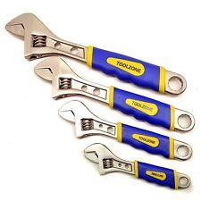 4pc Mono Juego de llaves de tubo ajustable cubre la gama de 0 a 36mm