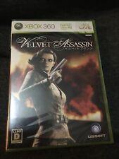 xbox 360 Sealed Game Velvet Assassin