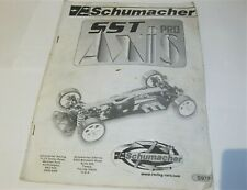 Schumacher 1/10 SST Axis Pro touring car build manual