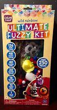 Wild Rainbow Ultimate Fuzzy Kit Over 250 Pieces
