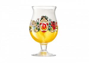 RARE - LIMITED EDITION - 2020 Duvel Artist Beer Snifter Glass M. Schiffmacher