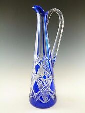 "BACCARAT Crystal - Stunning Cut-to-Clear TSAR Claret Jug Decanter - 13"""