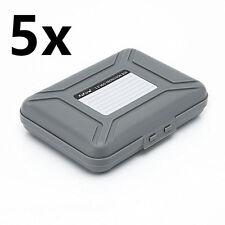 "SISUN 3.5 inch Anti-Static HDD Protection Case , 3.5 "" HDD Storage Box (5 pcs)"