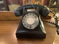 1960s  - Black AWA Bakelite Rotary Phone