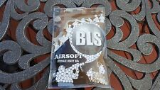 BLS Perfect Airsoft .40g BIO BBs White BB 0.40g .40 0.40 6mm 1000CT