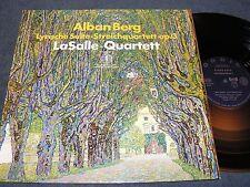 ALBAN BERG Lyrische Suite - LaSalle-Quartett / German LP 1971 ORBIS 63217