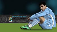 Sergio Aguero Quote Art Print Photo 8x10 Inches Manchester City Football Soccer