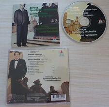 CD SYMPHONIE FANTASTIQUE BERLIOZ HECTOR PLACIDO DOMINGO LA MARSEILLAISE 1996
