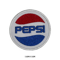 Pepsi Brand Logo Embroidered Iron On Sew On Patch Badge For Clothes etc