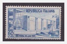 ITALIA 1952  -  FIERA DI MILANO   NUOVO (*)  senza gomma