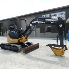 2012 John Deere 35D MINI EXCAVATOR Diesel  THUMB! NICE SHAPE! Low Hours!!!!!