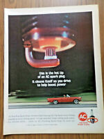 1964 AC Spark Plugs Ad Plymouth Dodge Ford Pontiac Convertible ?