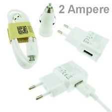 2A 3 en 1 Chargeur Secteur + Voiture + Câble USB Samsung Galaxy Alpha SM-G850