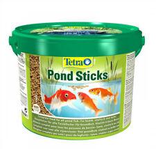 TETRA POND STICKS 10L BUCKET  FOOD FOR ALL POND FISH,Staple food , floating