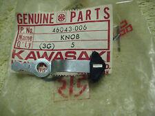 KAWASAKI H2/H1/KH500/S3/KH400/S1/KH250/KZ200 LIGHT SWITCH KNOB NOS!
