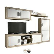 Mueble de comedor, salon moderno, conjunto comedor salon modulo Tv, Ambar